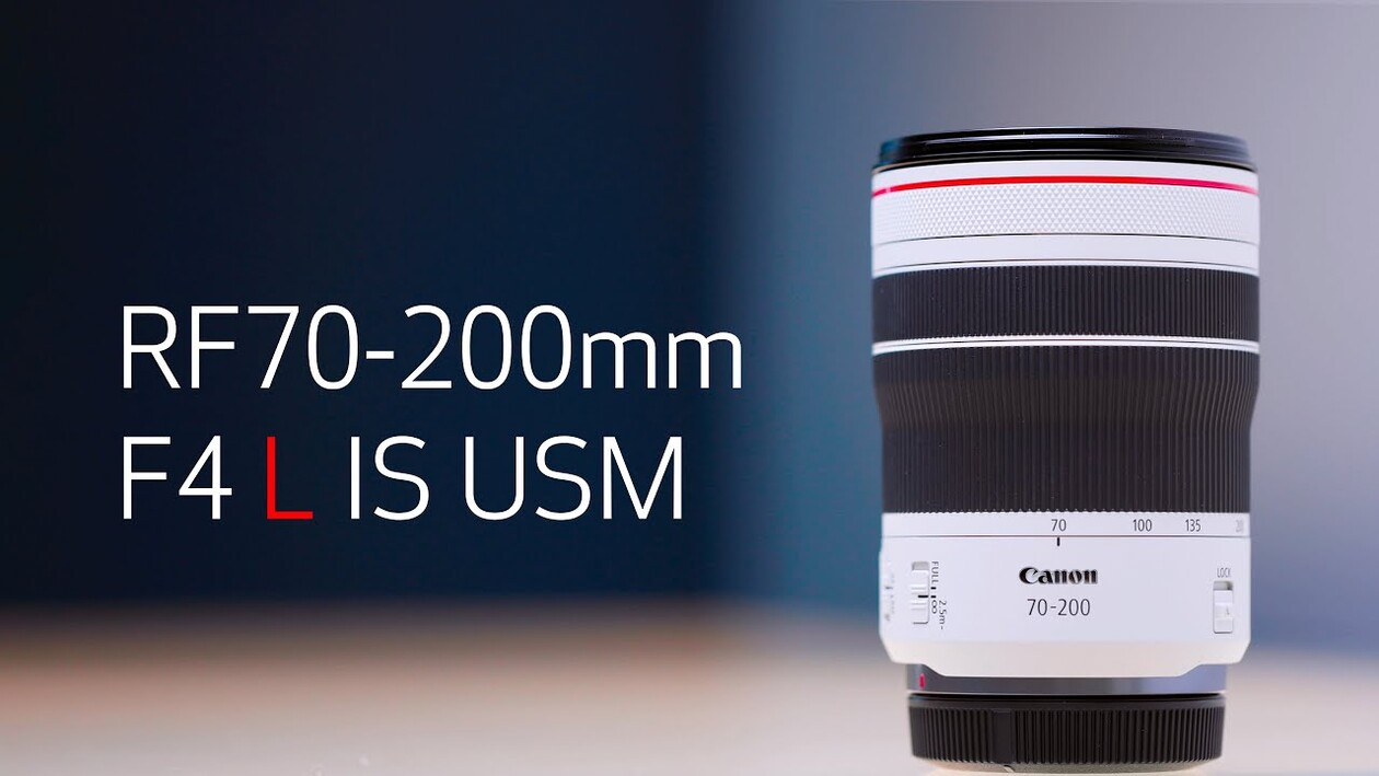 Discover the Canon RF70-200mm F4 L IS USM Lens with Mason Higa