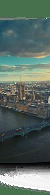 Kücher-HD Ausdruck einer Stadtansicht von London