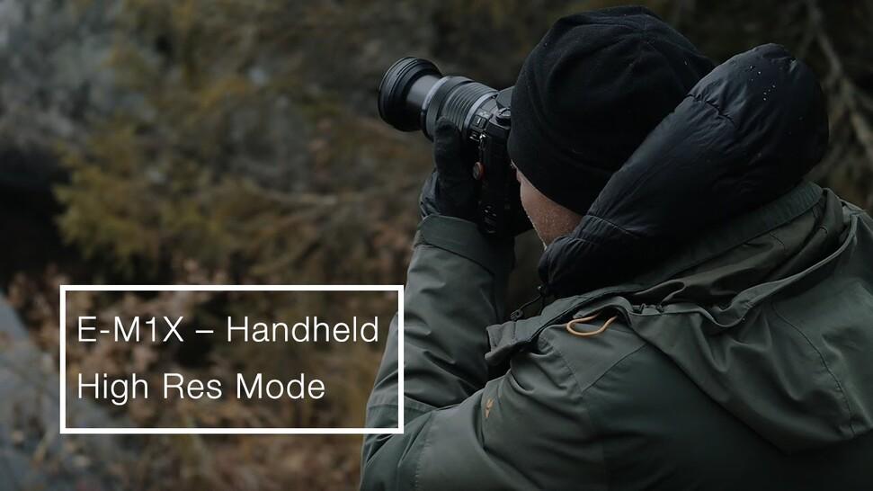 OM-D E-M1X | Handheld High Res Mode