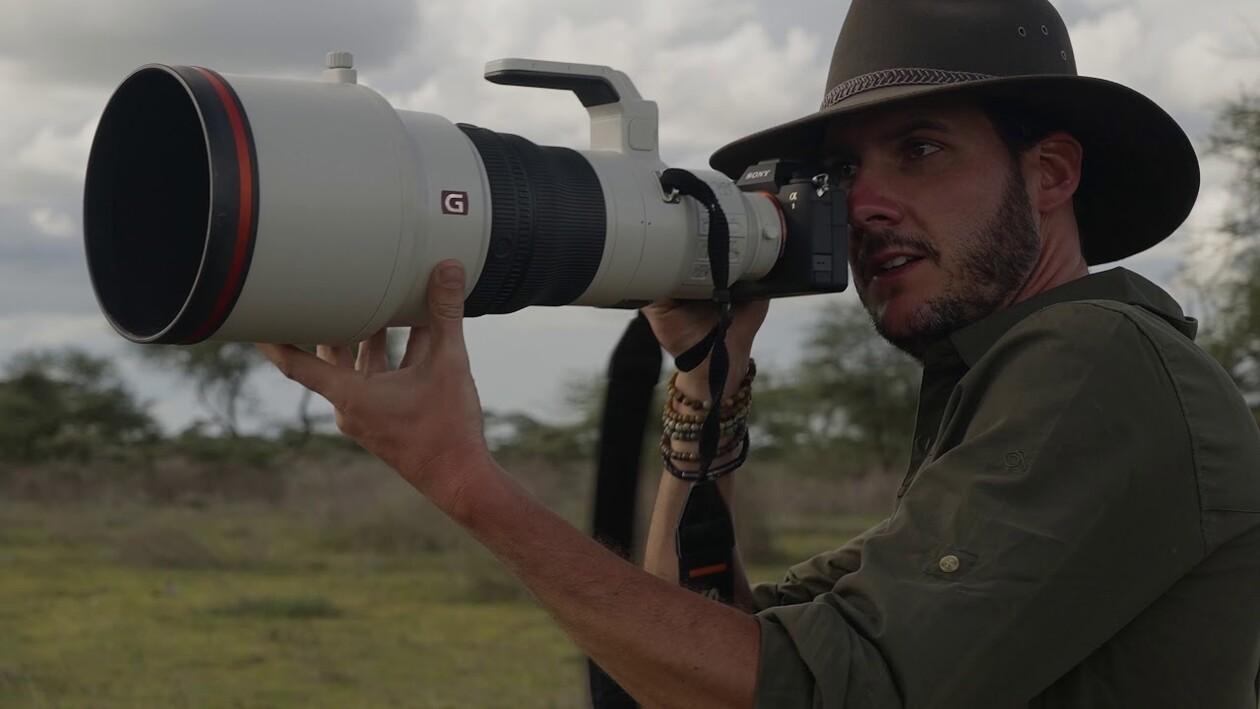 Die neue Sony Alpha 1 auf Safari mit Chris Schmid
