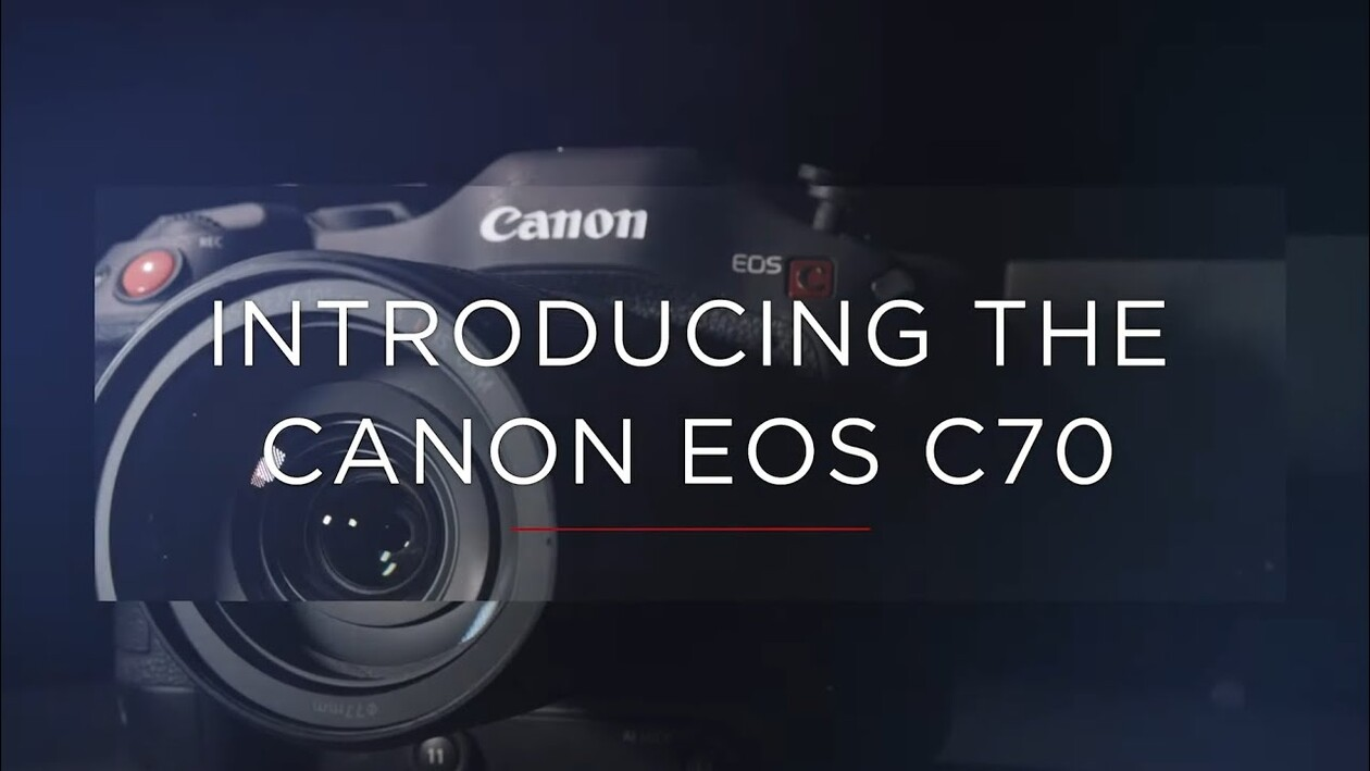 Canon Cinema EOS C70 | First Look