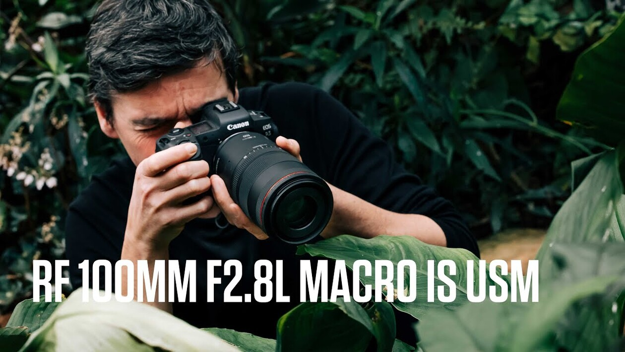 Get closer, with images larger than life - Introducing the RF 100MM F2.8L MACRO IS USM lens