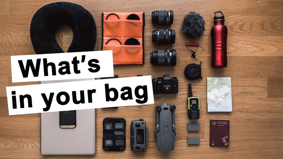 What's in your Camera Bag | Olympus Travel Photography Gear