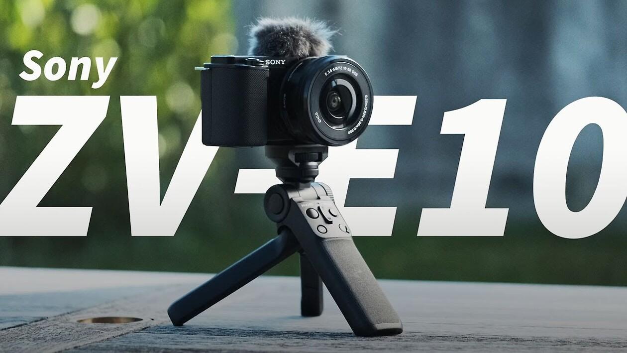 Die neue Sony ZV-E10 für Blogger, Vlogger und Influencer