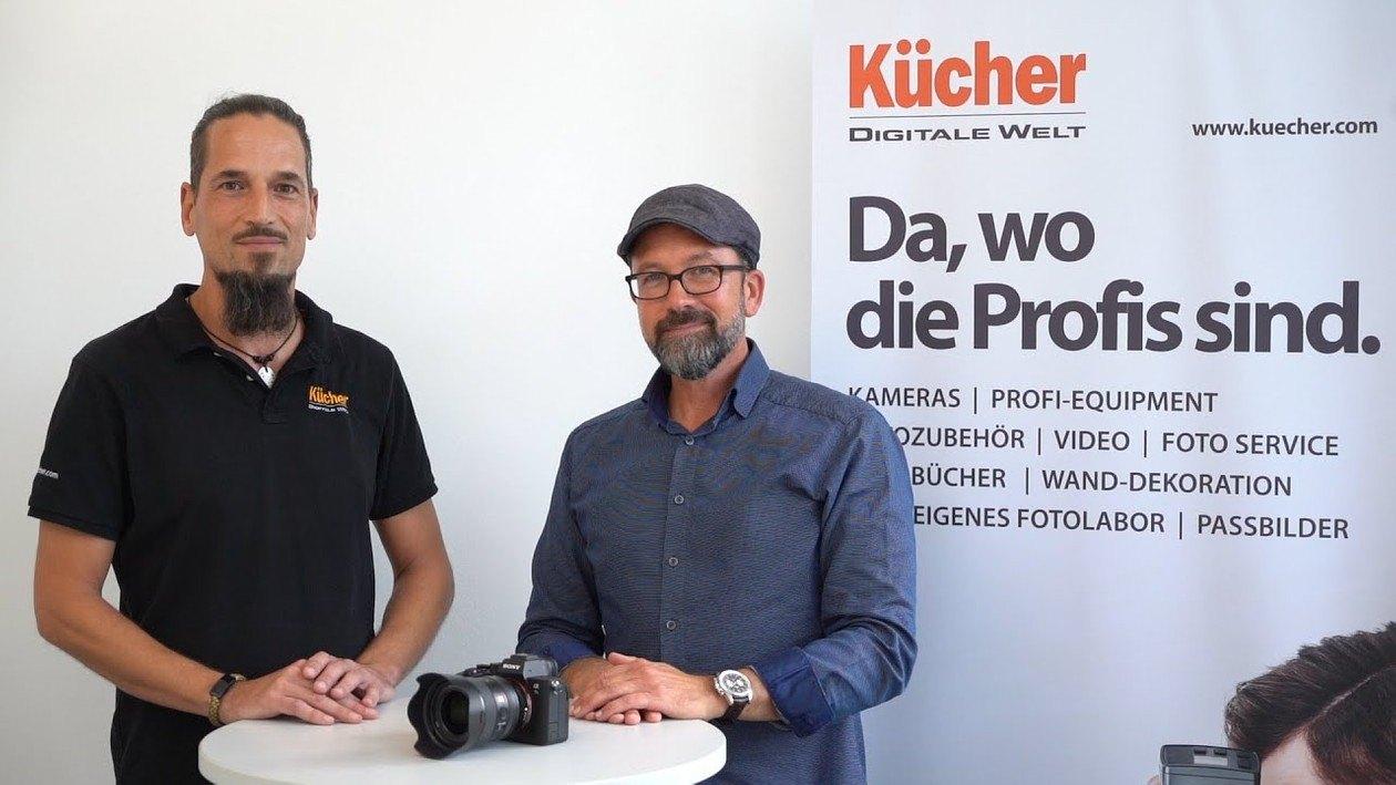 Die Sony Alpha 7S III im Kücher Profi-Talk